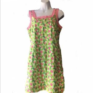 LILLY PULITZER sleeveless floral dress
